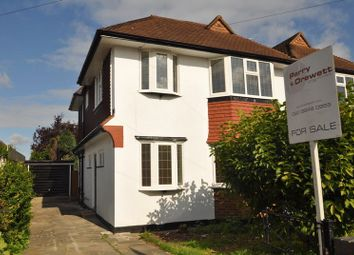 Thumbnail 3 bed semi-detached house for sale in Romney Road, Old Malden, Worcester Park