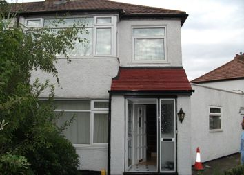 Thumbnail 4 bed semi-detached house to rent in Longfield Avenue, Enfield