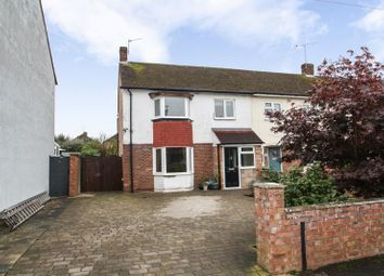 Thumbnail 3 bedroom end terrace house for sale in Invergordon Avenue, Drayton, Portsmouth
