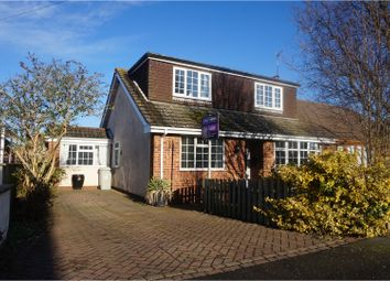 Thumbnail 3 bedroom semi-detached bungalow for sale in Harpham Road, Grimsby