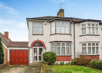 Thumbnail 3 bed semi-detached house for sale in Le May Avenue, London