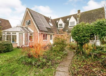 Thumbnail 5 bed semi-detached house for sale in Denny End Road, Waterbeach, Cambridge