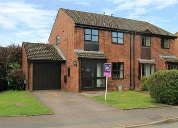 Thumbnail 3 bed semi-detached house for sale in Wessington Drive, Hereford