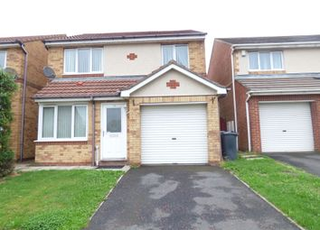 Thumbnail 3 bed detached house for sale in Holyfields, West Allotment, Newcastle Upon Tyne