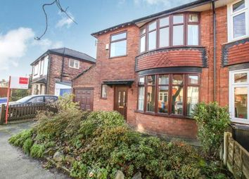 Thumbnail 3 bedroom semi-detached house for sale in Northcliffe Road, Stockport, Greater Manchester