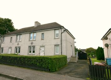 Thumbnail 2 bed flat for sale in Springhill Road, Shotts