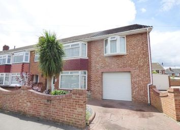 Thumbnail 4 bed semi-detached house for sale in Elson, Gosport, Hampshire