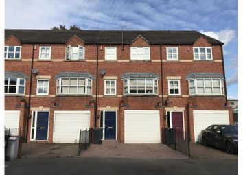Thumbnail 3 bed town house to rent in Manchester Street, Derby