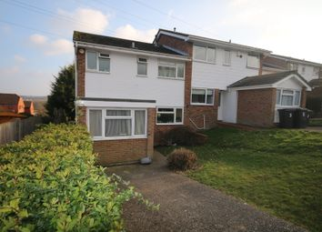 Thumbnail 5 bed semi-detached house to rent in Westerham Close, Canterbury