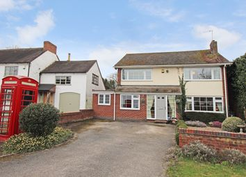 Thumbnail 5 bed detached house for sale in Main Road, Newton Regis, Tamworth