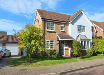 Thumbnail 4 bed detached house for sale in Westbury Rise, Church Langley, Harlow