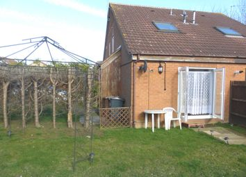 Thumbnail 1 bedroom property for sale in Montfitchet Walk, Stevenage