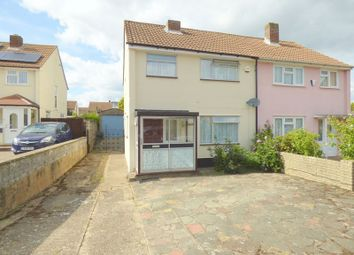 Thumbnail 3 bed semi-detached house for sale in Brook Road, Swanley