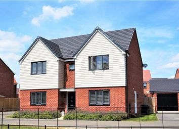 Thumbnail 4 bed detached house for sale in Ashpole Avenue, Wootton
