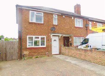 Thumbnail 2 bed end terrace house for sale in Solway Road South, Luton