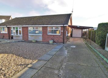 Thumbnail 2 bed semi-detached bungalow for sale in The Meadows, Burringham, Scunthorpe