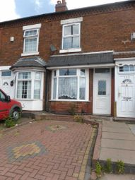 Thumbnail 3 bed terraced house to rent in Ash Road, Alum Rock, Birmingham