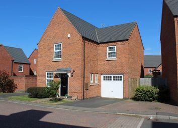 Thumbnail 3 bed detached house for sale in Cornfield Close, Ellistown, Coalville