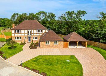 Thumbnail 5 bed detached house for sale in Honeypot Farm, Honeypot Lane, Edenbridge, Kent