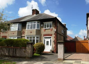 Thumbnail 3 bed semi-detached house for sale in Riviera Drive, Bebington, Wirral