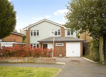 Thumbnail 4 bed detached house for sale in Woodside Avenue, Hersham, Walton-On-Thames, Surrey