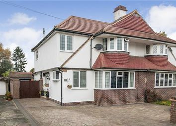 Thumbnail 4 bed semi-detached house for sale in Willett Close, Petts Wood, Orpington, Kent