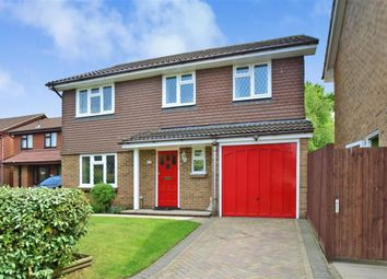 Thumbnail 4 bed detached house for sale in Willow Road, Larkfield, Aylesford, Kent