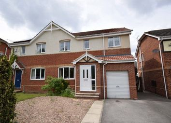 Thumbnail 4 bed semi-detached house for sale in Chatsworth Drive, Rossington, Doncaster, South Yorkshire