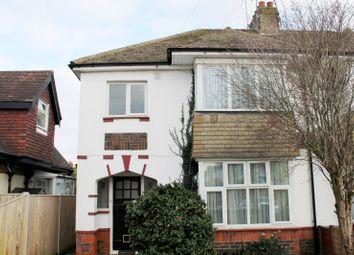 Thumbnail 1 bedroom flat to rent in Haynes Road, Worthing