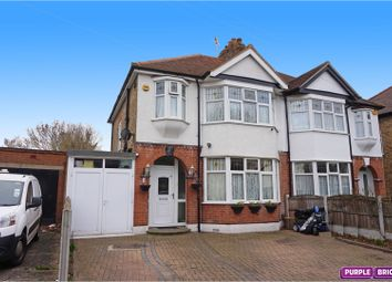 Thumbnail 3 bed semi-detached house for sale in Cromer Road, Hornchurch