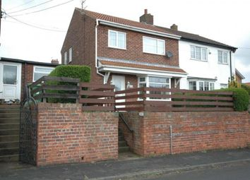 Thumbnail 3 bed semi-detached house to rent in Hutton Crescent, Hutton Henry, Hartlepool