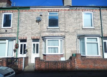 Thumbnail 2 bedroom terraced house for sale in St. Johns Terrace, Gainsborough