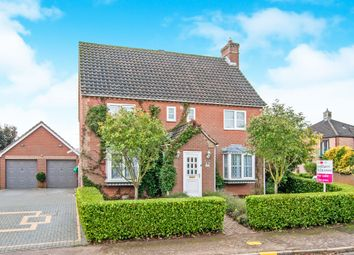 Thumbnail 4 bed detached house for sale in Blenheim Way, Watton, Thetford