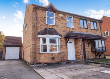 Thumbnail 3 bed semi-detached house for sale in Martin Drive, Syston