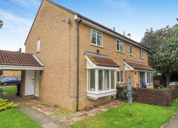 Thumbnail 2 bed terraced house to rent in Roe Green, Eaton Socon, St. Neots