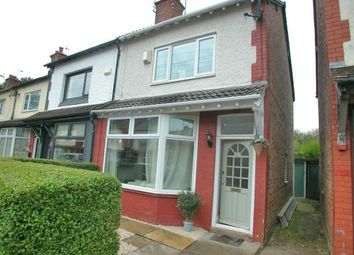 Thumbnail 2 bed semi-detached house for sale in Oak Road, Hooton, Ellesmere Port, Cheshire