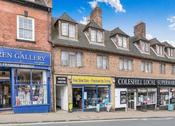 Thumbnail 3 bed flat for sale in High Street, Coleshill, Birmingham, .