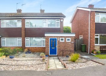 Thumbnail 3 bedroom semi-detached house for sale in Goodwood Close, Hoddesdon