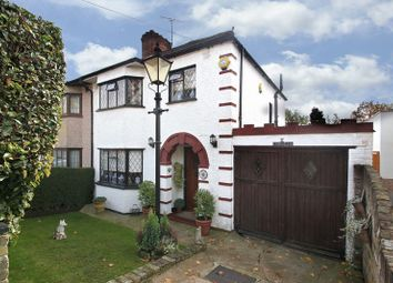 Thumbnail 3 bed semi-detached house for sale in The Shrubberies, Chigwell