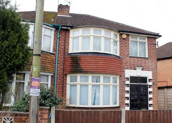 Thumbnail 3 bed semi-detached house to rent in Melton Road, Syston, Leicester