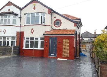 Thumbnail 3 bed semi-detached house to rent in Fordbank Road, Didsbury