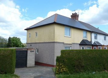 Thumbnail 3 bed semi-detached house for sale in Dyfan Road, Barry