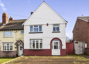 Thumbnail 3 bed end terrace house for sale in Bristnall Hall Road, Oldbury, West Midlands