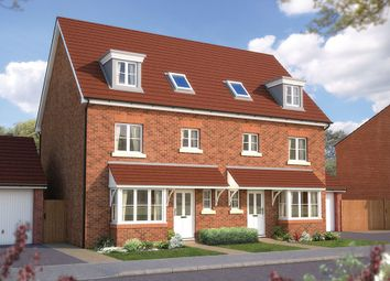 "Thumbnail 4 bed town house for sale in ""The Wimborne"" at Bayswater Square, Stafford"