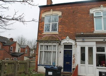 Thumbnail 2 bedroom end terrace house for sale in Clarence Avenue, Handsworth, Birmingham