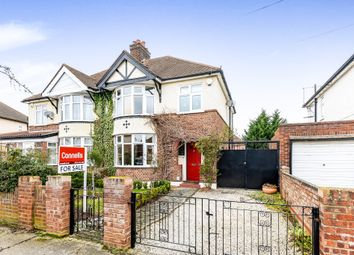 Thumbnail 4 bed semi-detached house for sale in Gloucester Road, Elstow, Bedford