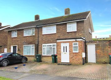 Thumbnail 3 bed semi-detached house for sale in Chichester Close, Crawley, West Sussex.