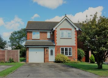 Thumbnail 4 bed detached house for sale in Brook Close, Henlow