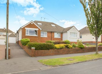 Thumbnail 3 bedroom semi-detached bungalow for sale in Heol Isaf, Rhiwbina, Cardiff