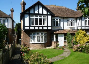 Thumbnail 3 bed semi-detached house to rent in St. Lawrence Road, Canterbury